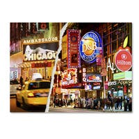 Philippe Hugonnard 'Times Square Colours' Canvas Wall Art - Multi