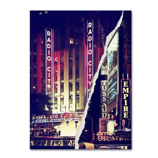 Philippe Hugonnard 'Times Square Theater District' Canvas Wall Art