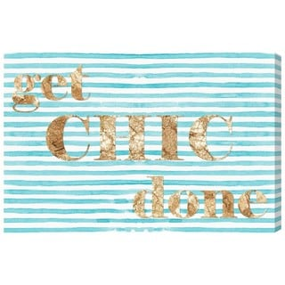 Runway Avenue 'Get Chic Done' Canvas Art