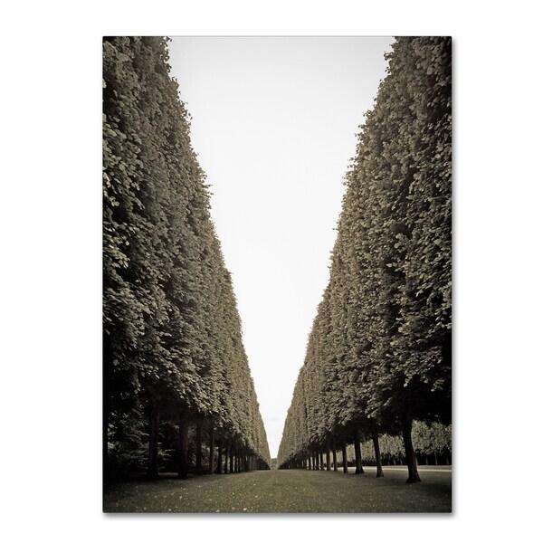 Preston 'Parisian Versailles Trees' Canvas Wall Art - Multi