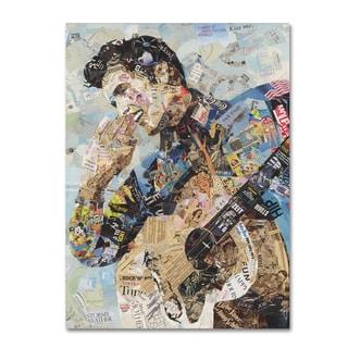 Ines Kouidis 'All Shook Up' Canvas Wall Art