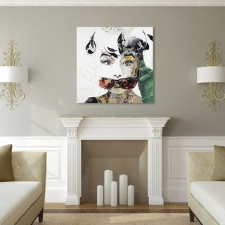 Ines Kouidis 'Audrey' Canvas Wall Art