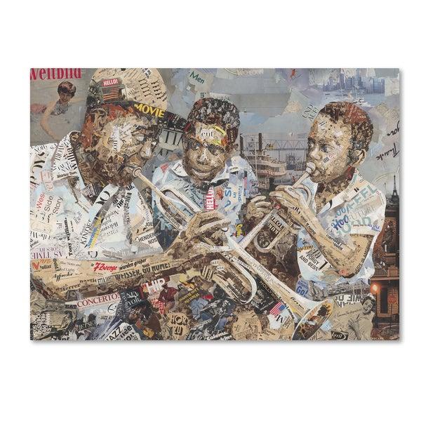 Ines Kouidis 'Blues Boys' Canvas Wall Art