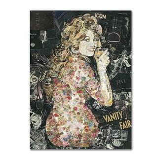 Ines Kouidis 'Everybody Loves my Baby' Canvas Wall Art