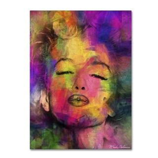 Mark Ashkenazi 'Marilyn Monroe VI' Canvas Wall Art