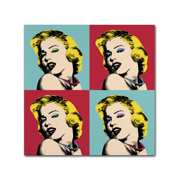 Shop Mark Ashkenazi \'Pop Art Collage\' Canvas Wall Art - On Sale ...