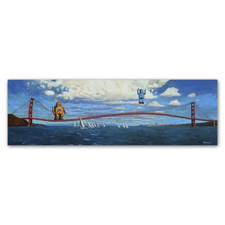 Eric Joyner 'The Golden Gate' Canvas Wall Art