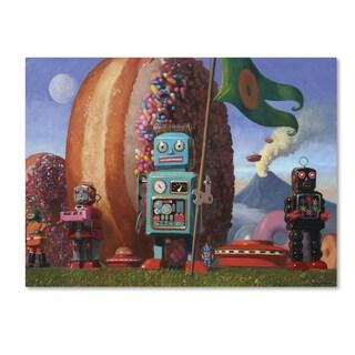 Eric Joyner 'Landing Party' Canvas Wall Art