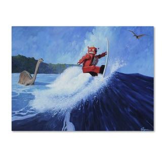 Eric Joyner 'Surfs Up' Canvas Wall Art