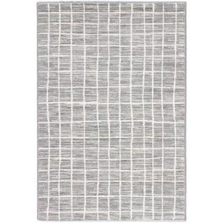 Ecarpetgallery Noto Cream Dark Grey Grey Patterned Rug (7'10 x 10'2)