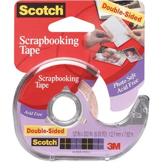 Scotch Scrapbooking Tape DoubleSided.5inX300in|https://ak1.ostkcdn.com/images/products/10509799/P17589833.jpg?impolicy=medium