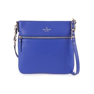 Kate Spade New York Tenley Leather Crossbody Bag Bright Lapis