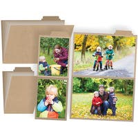 I Am Photo Booklets W/4 Pocket Pages 2/Pkg4inX6in & 3inX4in