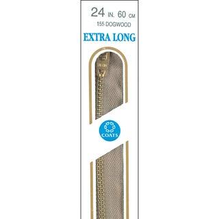 Extra Long Metal Zipper 36inDogwood