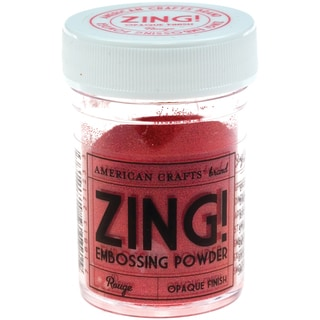 Zing! Opaque Embossing Powder 1ozRouge