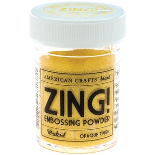Zing! Opaque Embossing Powder 1ozMustard