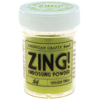 Zing! Opaque Embossing Powder 1ozLeaf