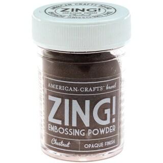 Zing! Opaque Embossing Powder 1ozChestnut