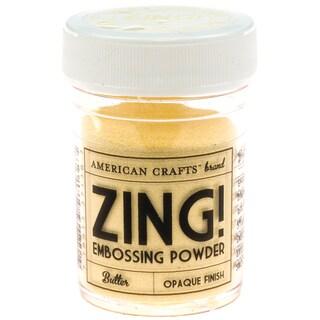 Zing! Opaque Embossing Powder 1ozButter
