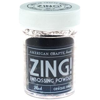 Zing! Opaque Embossing Powder 1ozBlack