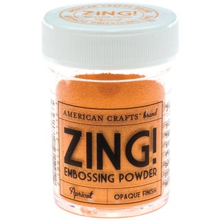 Zing! Opaque Embossing Powder 1ozApricot