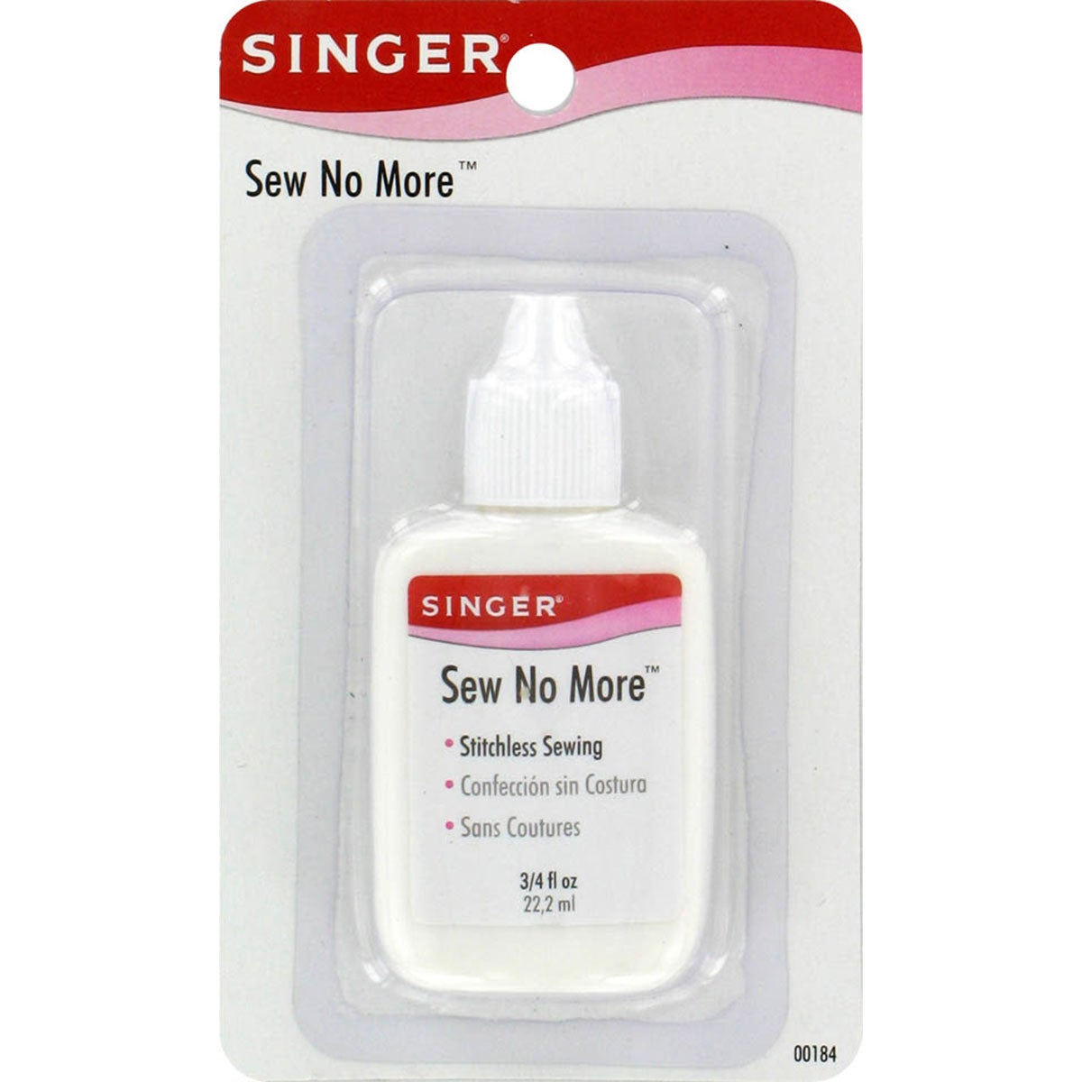 SINGER SEWING CO. Sew No More Fabric Glue.75oz (.75oz), B...