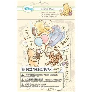 Disney Cardstock DieCutsClassic Pooh Firsts
