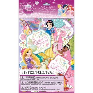 Disney Princess Cardstock DieCuts 118/Pkg