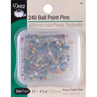 Color Ball Point PinsSize 17 240/Pkg