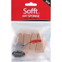 PanPastel Sofft Art Sponges 4/PkgAssorted