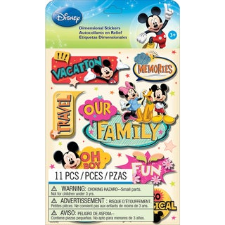 Disney Dimensional StickersMickey Family