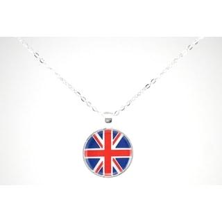 "Be The Envy ""Union Jack"" Necklace"