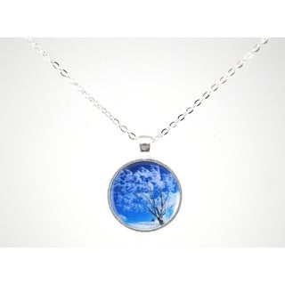 """Be The Envy """"Winter White Tree"""" Necklace"""