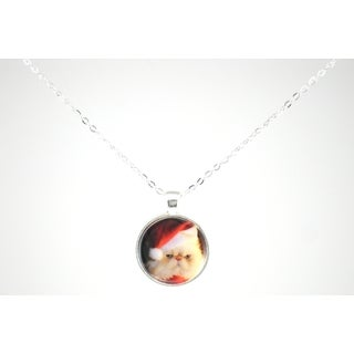 "Be The Envy ""Festive Cat"" Necklace"