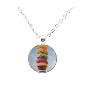 """Be The Envy """"Ice Cream Scoops"""" Necklace"""
