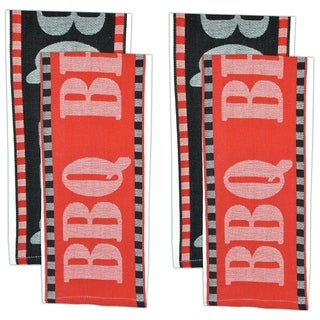 BBQ Jacquard Dishtowel (Set of 4)