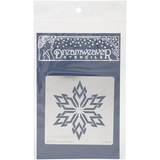 Dreamweaver Metal Stencil 4inX6.875inSouthwest Snowflake