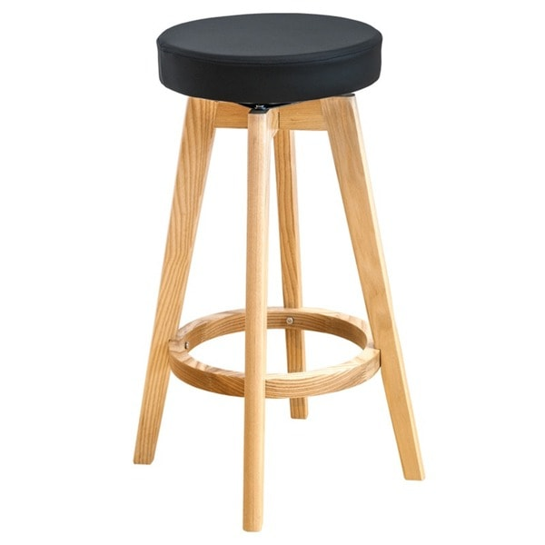 Lovely Mid Century Counter Stools Part - 12: Mod Made Rex Wood Swivel Counter Mid-century Style 26-inch High Stool -  Free Shipping Today - Overstock.com - 17580843