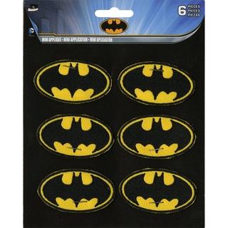 DC Comics PatchBatman Insignia 2inX1in 6/Pkg