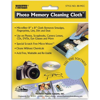 Photo Memory Cleaning Cloth8inX8in