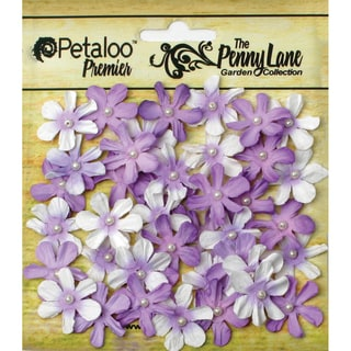 Penny Lane Mini Pearl Daisies .75in 40/PkgSoft Lavender