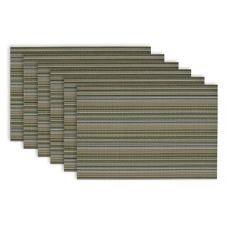Micro Stripe Placemats (Set of 6)