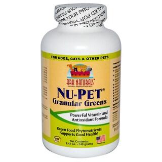 Ark Naturals Nu-Pet Granular Greens Dog and Cat Powder Supplement