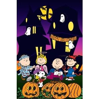 Marmont Hill - Peanuts Halloween Peanuts Print on Canvas