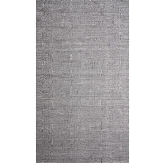Diamond Square Raw Wool Area Rug (8' x 10')
