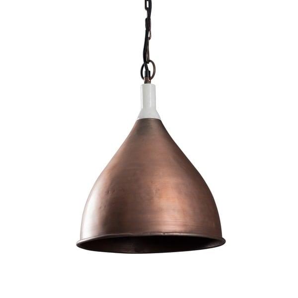 Benton Small Copper Pendant Light