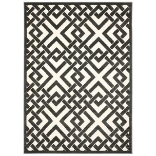 Nourison Ultima Ivory Grey Rug (3'6 x 5'6)