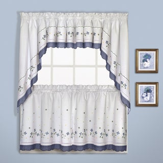 Gingham Kitchen Valance