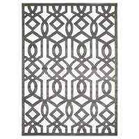 Nourison Ultima Ivory Grey Rug (3'6 x 5'6) - 3'6 x 5'6