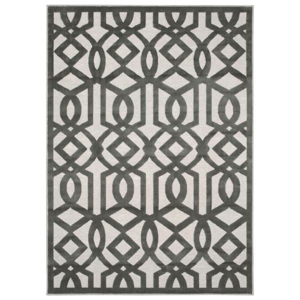 Nourison Ultima Silver Grey Rug (3'6 x 5'6)